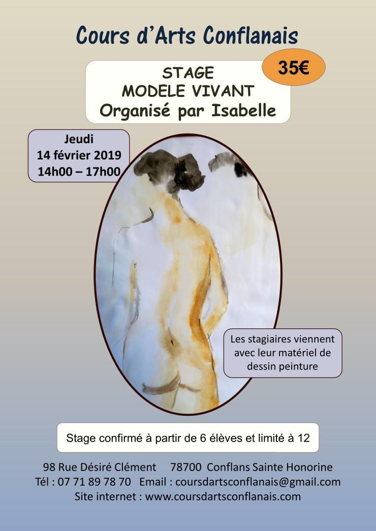 2ème STAGE_MODELE_VIVANT_Février 2019